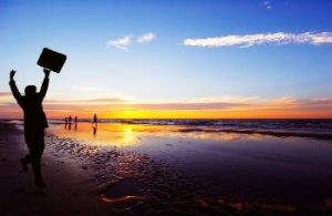 success beach sunrise
